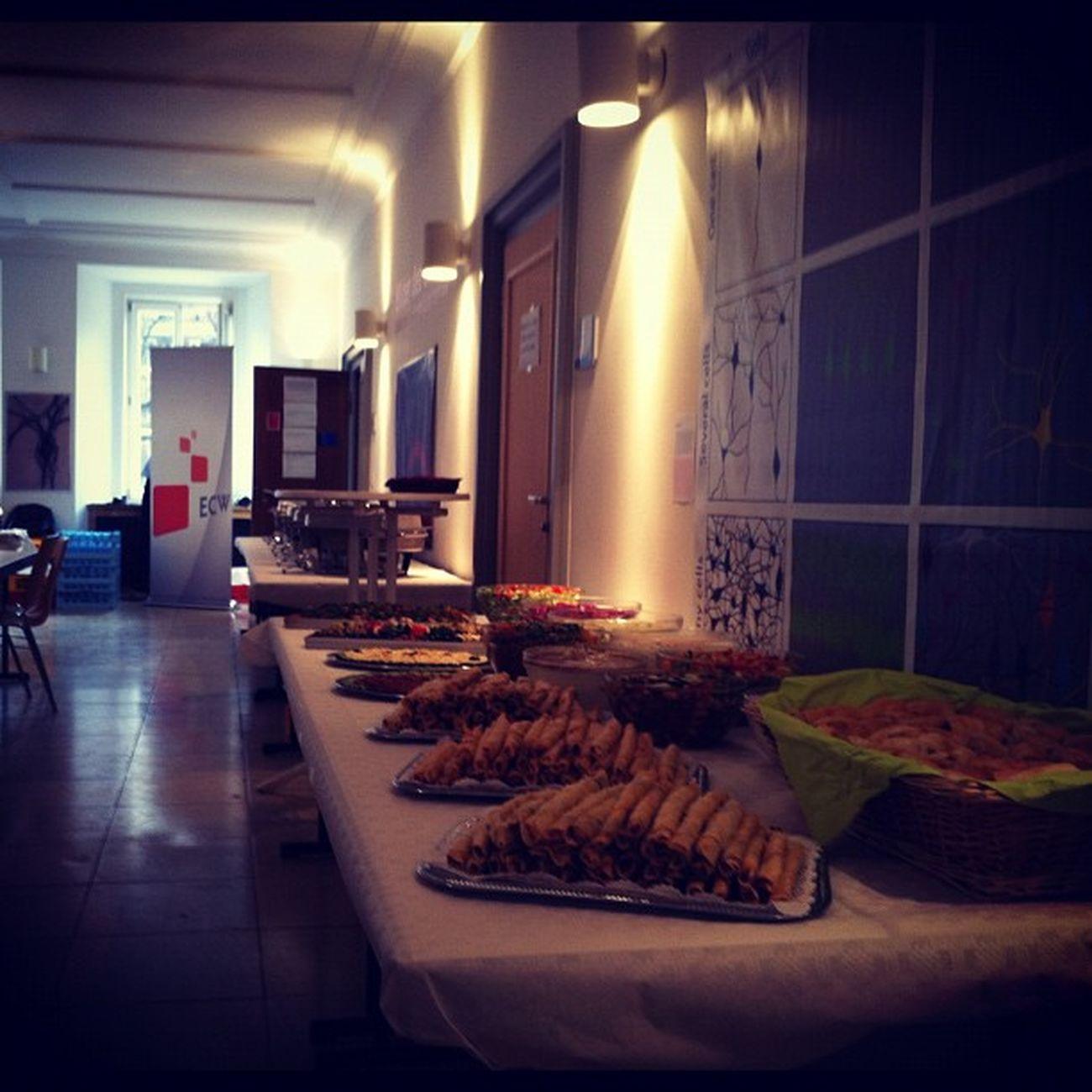 Das Essen ist auch schon angerichtet #barbs2011 Barbs2011
