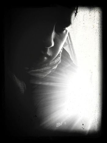 Una parte de mi... Black&white Random Photo Time Walking Around Working #picoftheday