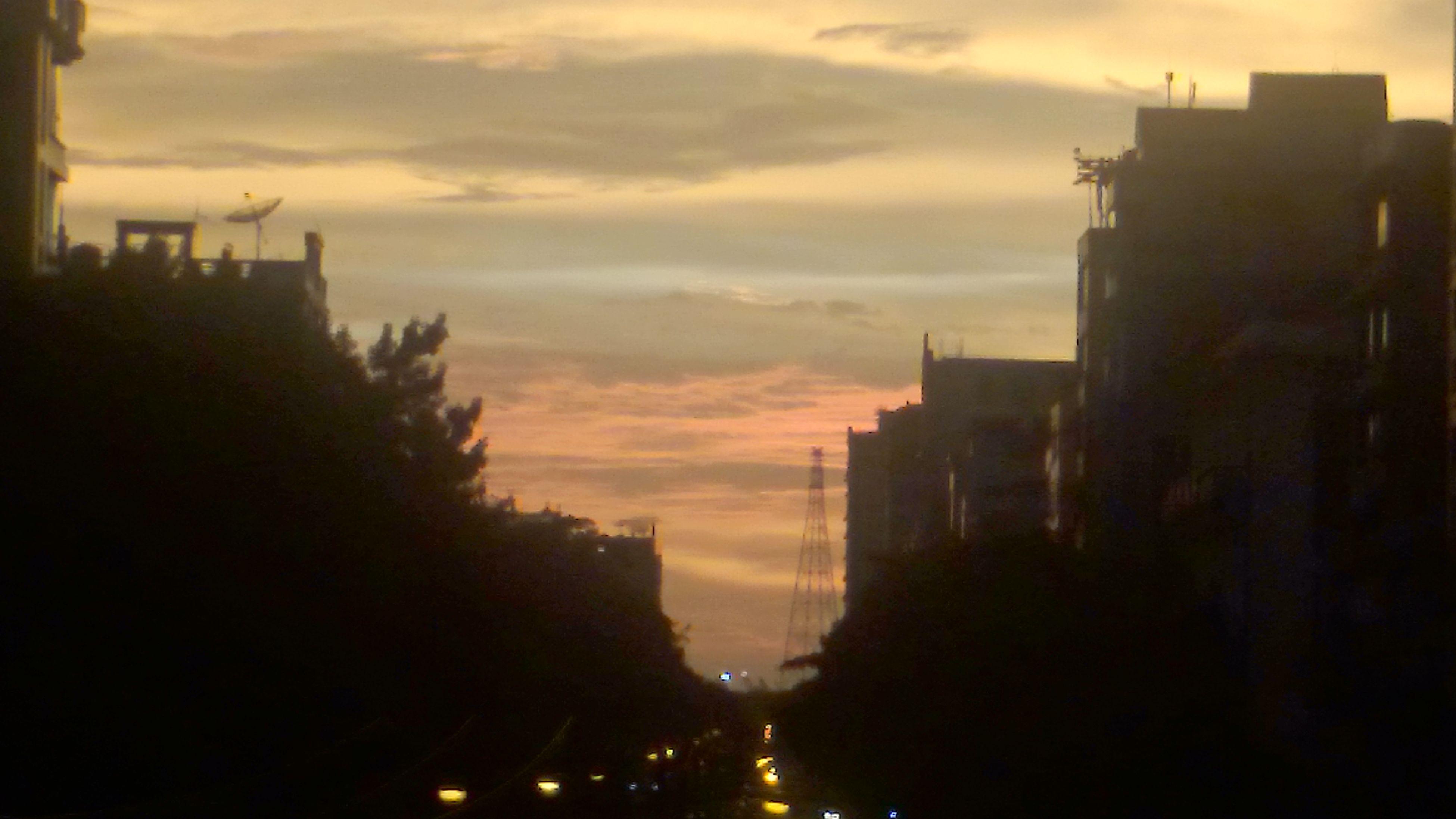 TBT  Zoom 8x Evening Sunset