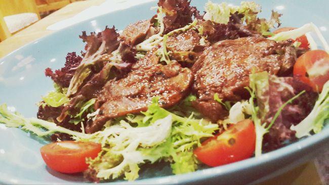 Soooooo Delicious . Chiken Salad , ate it at Zoo Coffee Tonight . Awesome life!