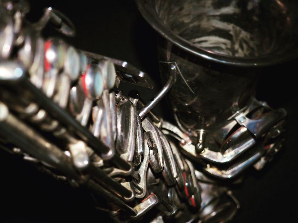 Metal Instruments Instrument Saxophone Photography Vintage