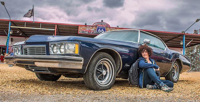 Car Classic Car Route 66 Sky Girl American Cars American Classics Coche Coche Americano Coche Clasico