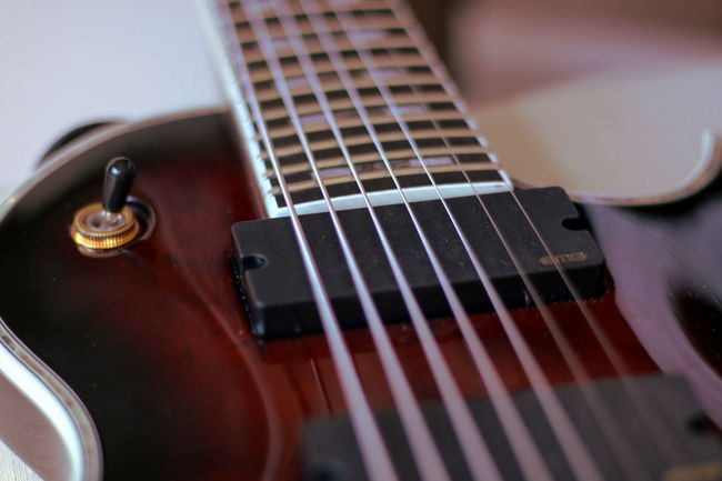 7 Strings Close Up Depth Ot Field EMG Guitar Guitar Lessons Hobbies Humbucker Music Musical Instrument