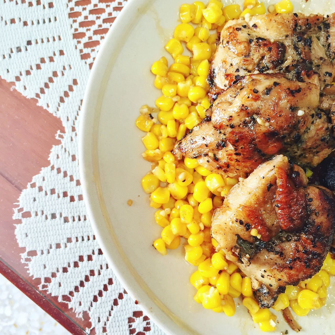 Foodphotography Chickenfillet Corn Homemade Homemade Food Lunch