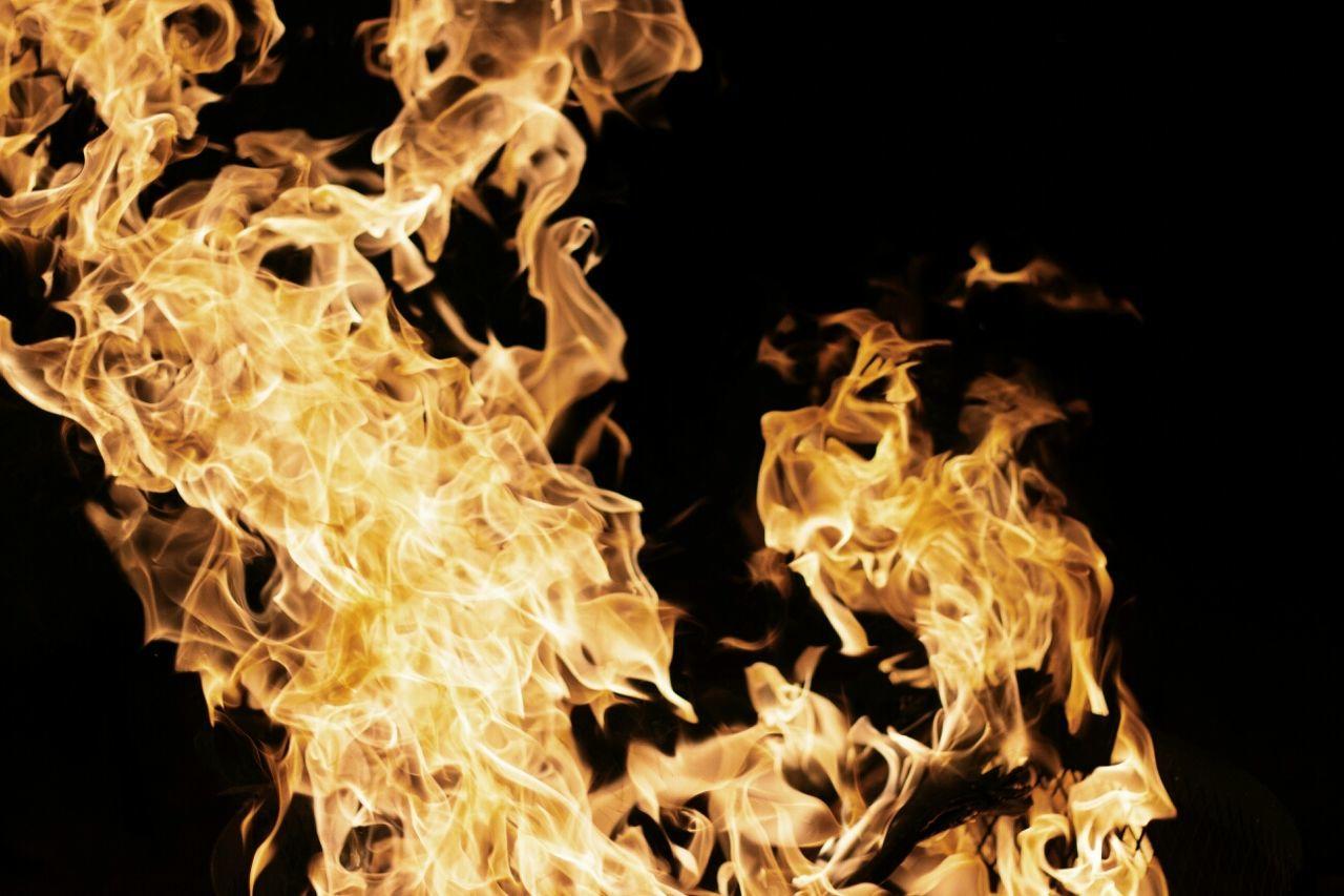 Fire Flame Bonfire Action
