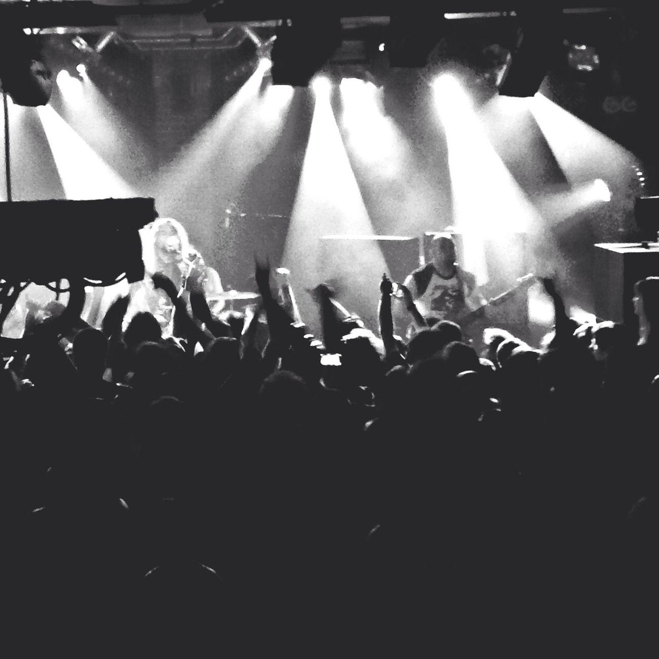 Soulfly Paris Concert Blackandwhite