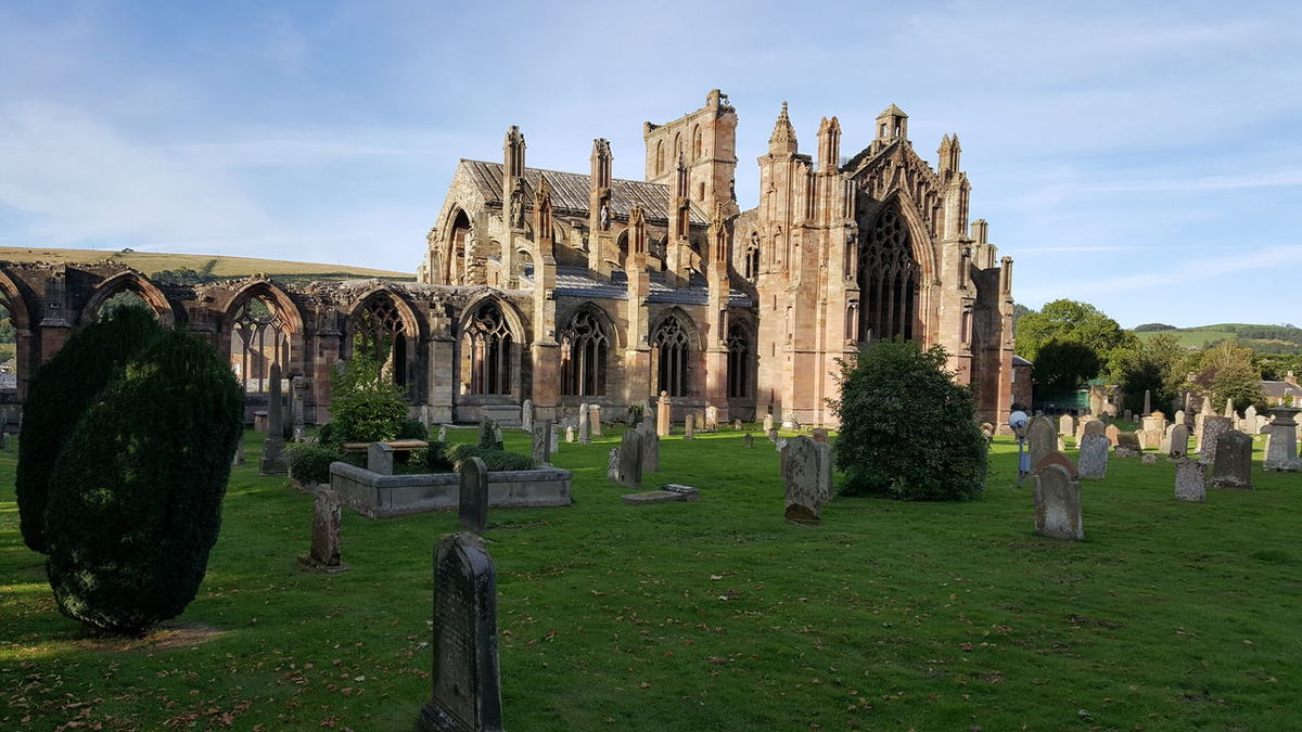 History Travel Destinations Cultures No People Architecture Outdoors Sky Travel Traveling Travel Photography Travelling Travelphotography Abbey Melrose Abbey MelroseAbbey Melrose, Scottish Boarder Traveling The World Abbey Ruins Abbey Building