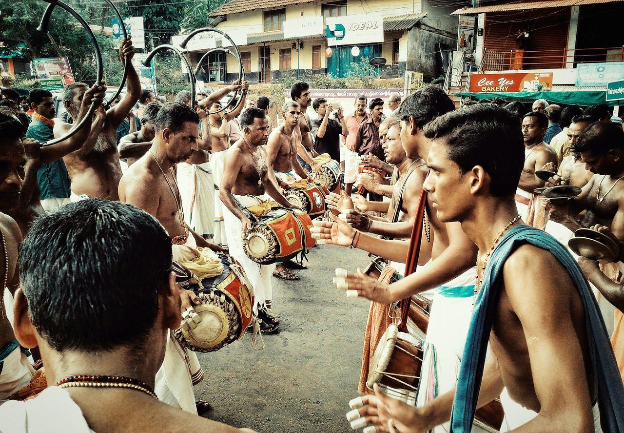 Celebration Lifestyles Performance Outdoors Arts Culture And EntertainmentKerala Art Form Kerala Festival Season panchavadhayan👌👌 Panchavadhayam
