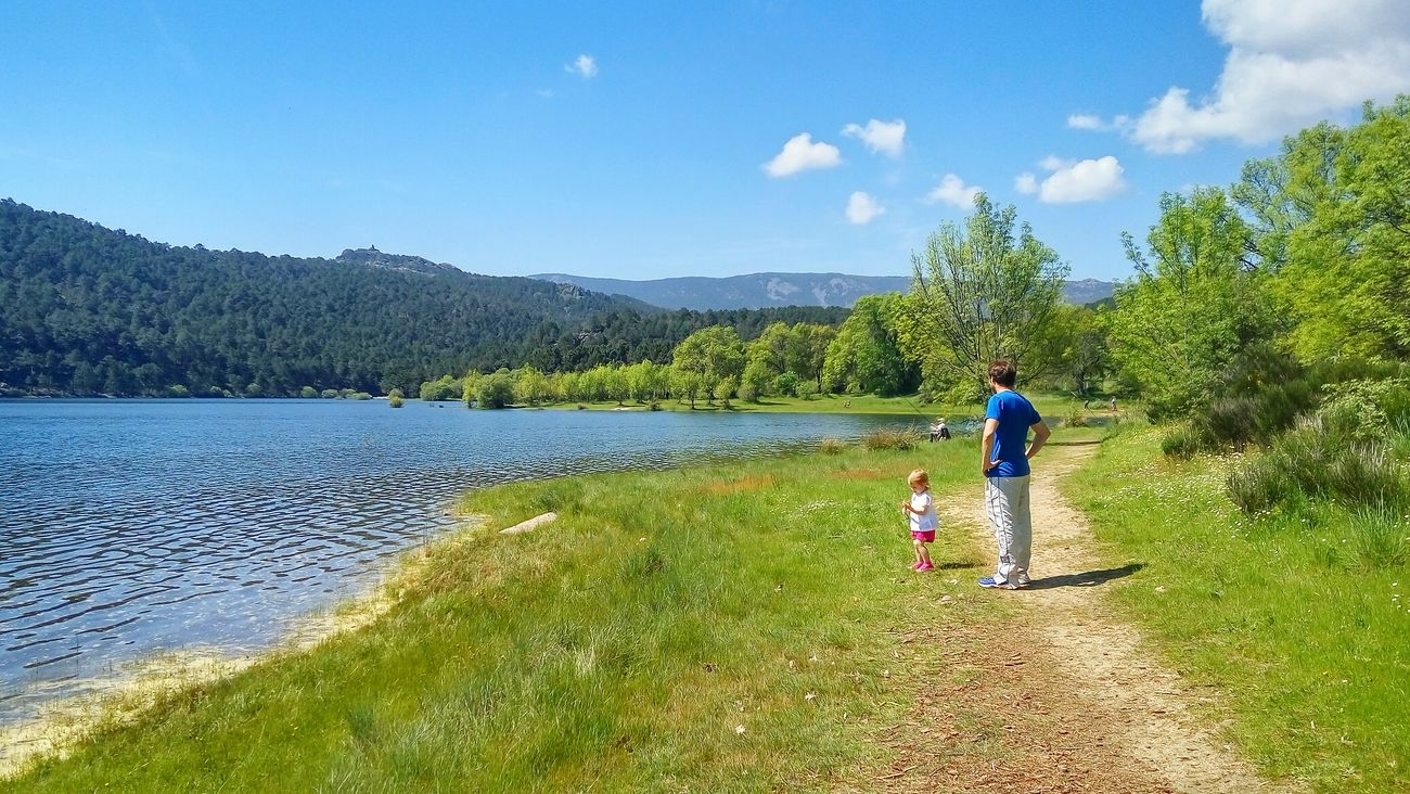 El Carrito Viajero Embalse De La Jarosa Guadarrama Sierra De Guadarrama Madrid SPAIN Viajes Con Carrito De Bebe Viajes Con Mochilas De Bebe Travel With Kids Travel With Babies Family Travels Web www.elcarritoviajero.com