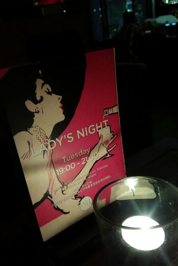 Bar Lady's Night With Friends Nightlife