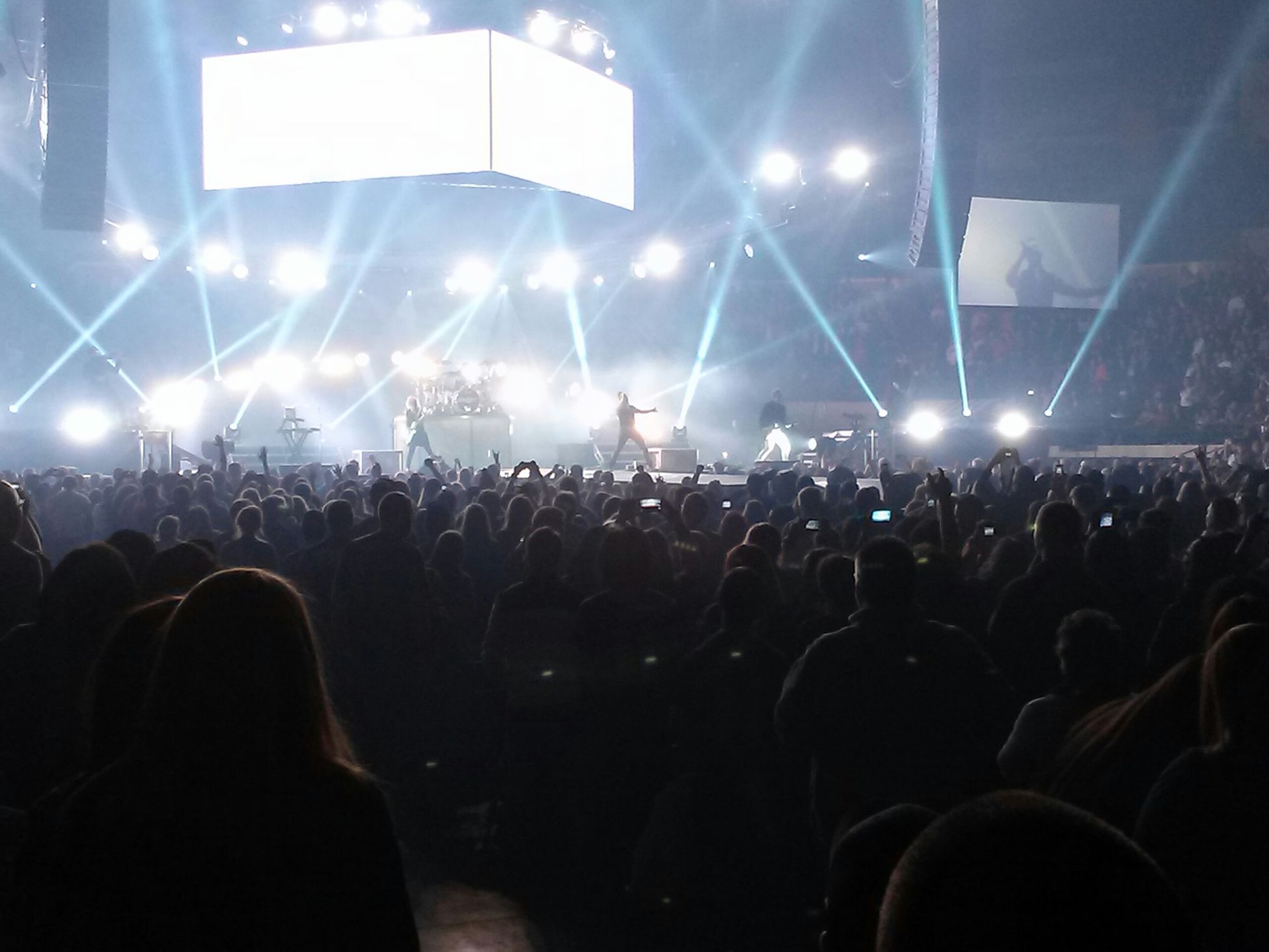 Killer Skillet performance at winterjam last night Skillet Winterjam Rock Stars Concert Awesome