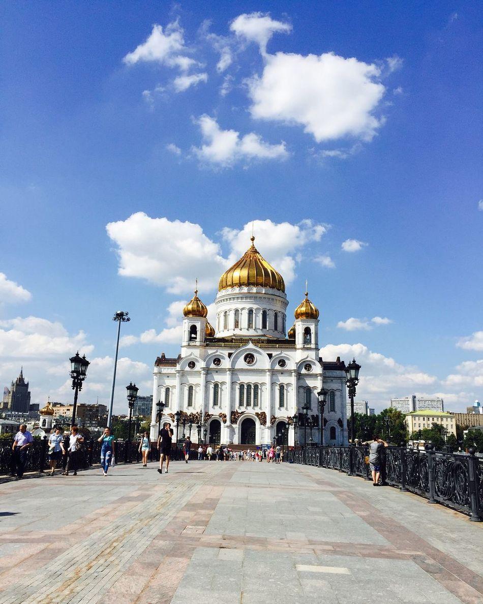 莫斯科基督救世主大教堂 俄罗斯最大东正教堂 旅游