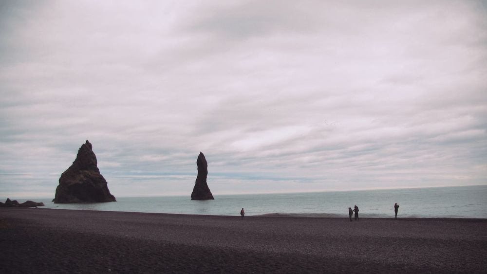 Beachphotography Black Sand Beach Iceland Iceland_collection Reynisfjara Naturelovers EyeEm Nature Lover The KIOMI Collection The Great Outdoors With Adobe