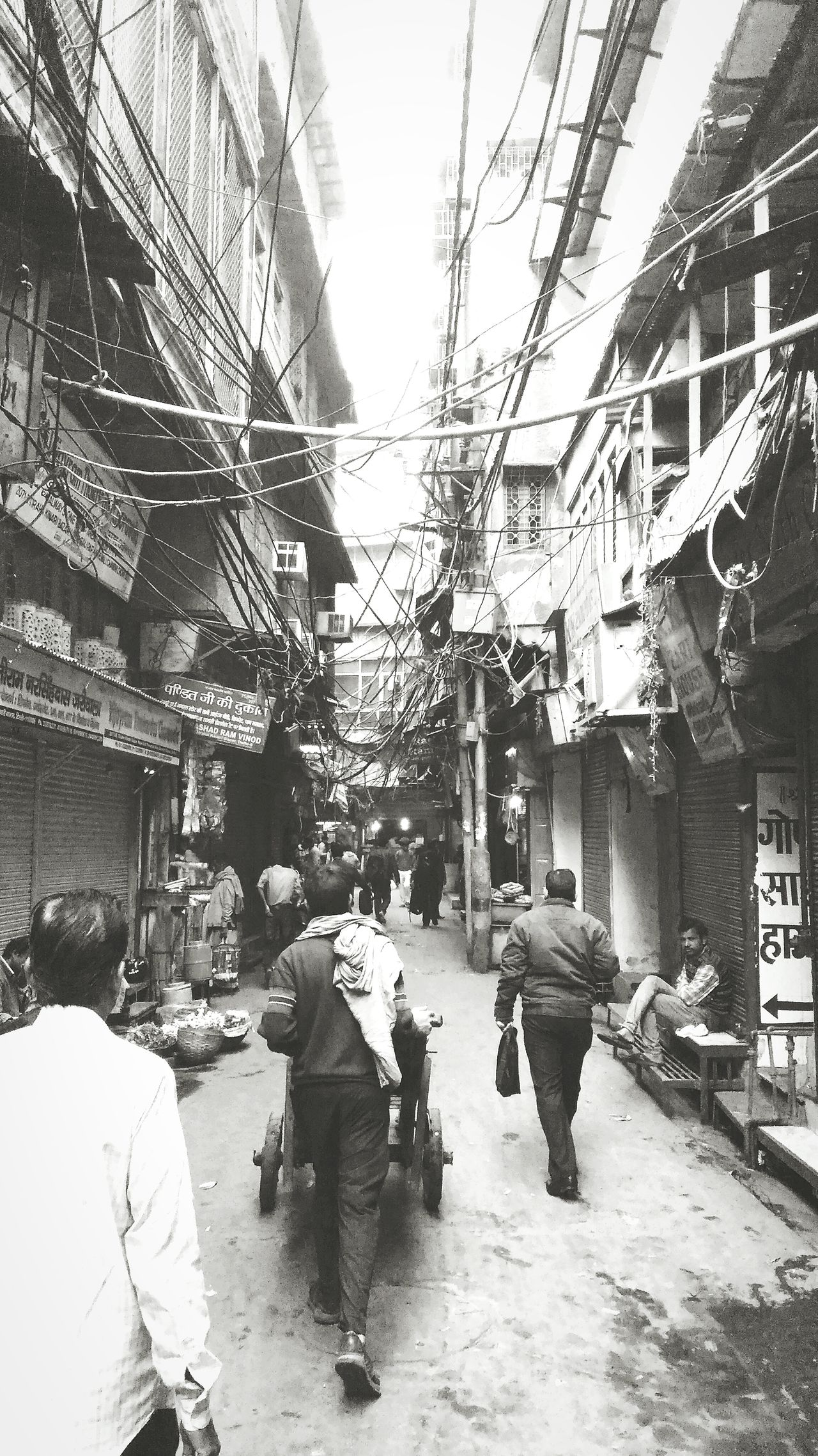 Chandnichowk Hanging Out Early Morning