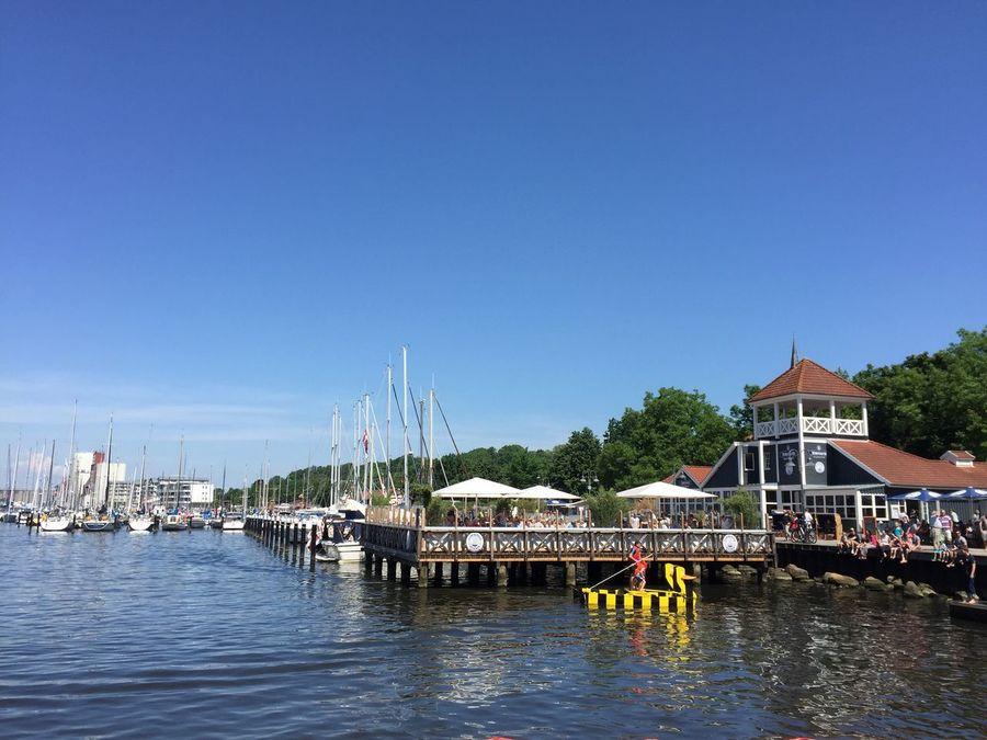 Port Hafen Hafen Flensburg Duck