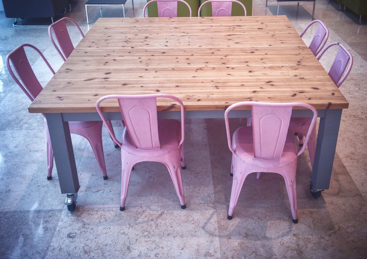 Millennial Pink Chair Table No People Indoors  Getty Images Tadaa Community AMPt_community EyeEm Team EyeEm Pink Pink Color