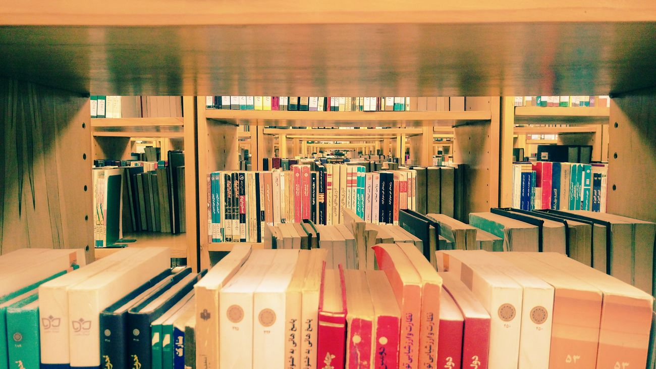 Library, feel free to choose your favorite books... Abundance Shelf Variation Large Group Of Objects No People Indoors  Close-up Day Books ♥ Book Bookshelf Mobilephotography Cultures Indoors  Unversitytime Library Building Library Library View Library Books