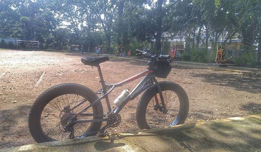 Park Fitness Bike Bicycle Fatbike United Grind Polarbear Eibag Fatbikeworld Val  2016 LG  G4 LGG4 😚 Bandung Bandungjuara 😚