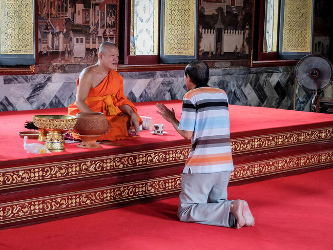 Buddhism Confession Conversation Monk  Prayer Temple The Magic Mission My Favorite Place People And Places
