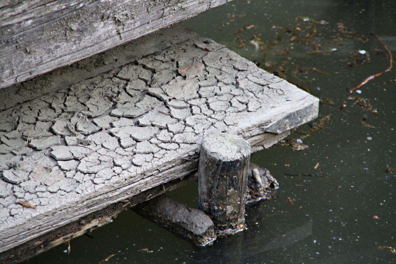 damaged, water, cracked, no people, day, outdoors, puddle, close-up, nature