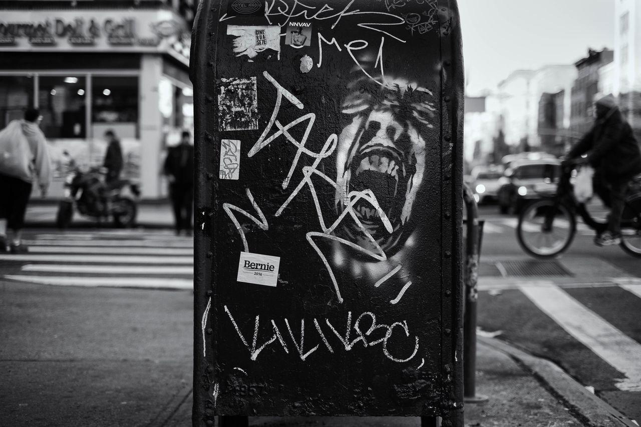Fuji Fujifilm Streetphotography The Street Photographer - 2016 EyeEm Awards EyeEm Best Shots - Black + White New York City NYC Photography NYC New York Streetphotography_bw FujiX100T StreetArtEverywhere Street Art/Graffiti 2016 EyeEm Awards EyeEm Best Shots Eyeembestshots - Black + White