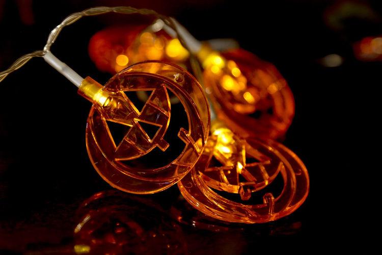 Illuminated Lighting Equipment Close-up No People Night Halloween_Collection