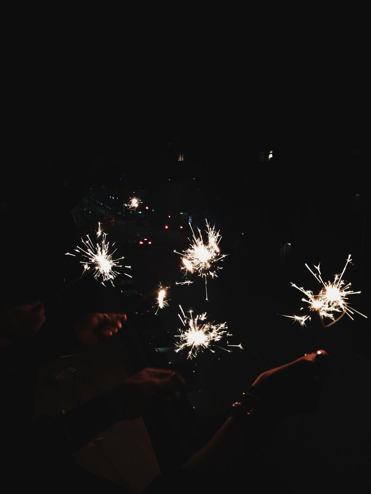 Happy New Year ! 2017 NYE Lights Night Fun