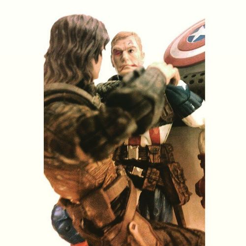 "You're my mission! Then finish it..""cause I'm with you till the end of the line. WinterSoldier Captainamerica Bucky Cap Steverodgers Captainamerica2 Avengers Marvellegends Hasbro Infinitieseries Disney Marvelstudious Mcu Marvelcomics Figurelife Figurecollection Manchild Collecting Collector Baf Manchild CaptainAmericaTheWinterSoldier Bestoffriends Happygeek Mypaint superheros"