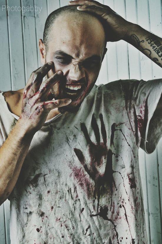 Contagieux ! Zombie Zombie Apocalypse Zombie Makeup Horror Portrait Horror Photography Portrait Darkside Dark Portrait