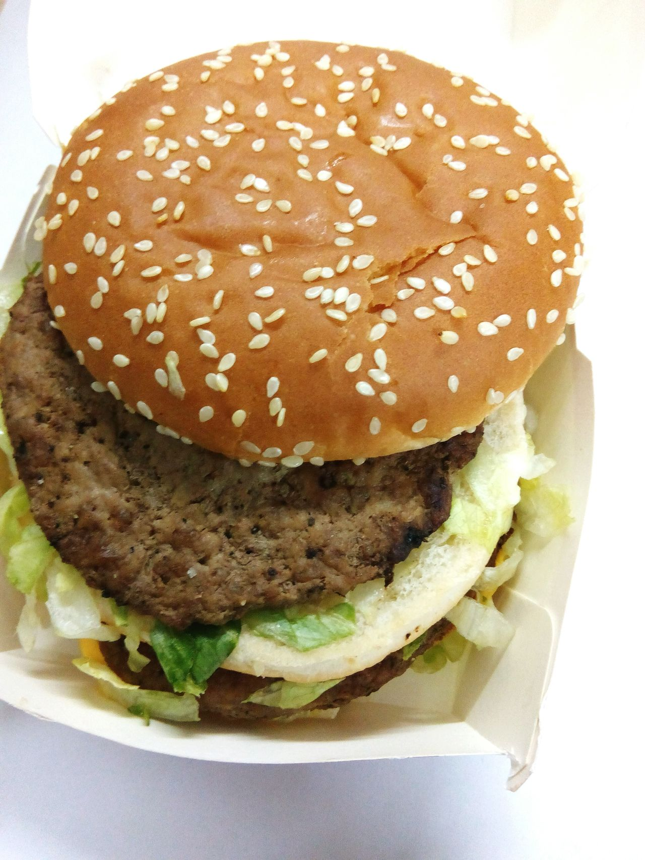 Burger Hamburger Bun Unhealthy Eating No People Freshness Food And Drink Fast Food Plate Food Close-up Sesame Indoors  Ready-to-eat Day