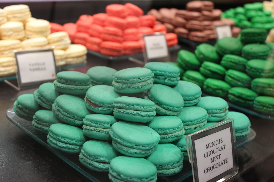 Colorful Colors Food Porn Foodphotography Laudree Macarons MacaronsDeParis Mint Paris Parislife