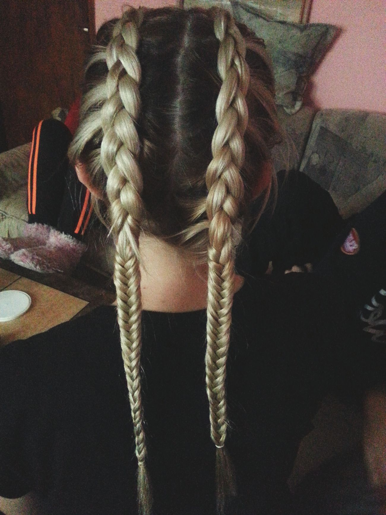 Blonde Hair Dutch Braid Fishtail Braid Ombre Ombre Hair Sarajevo
