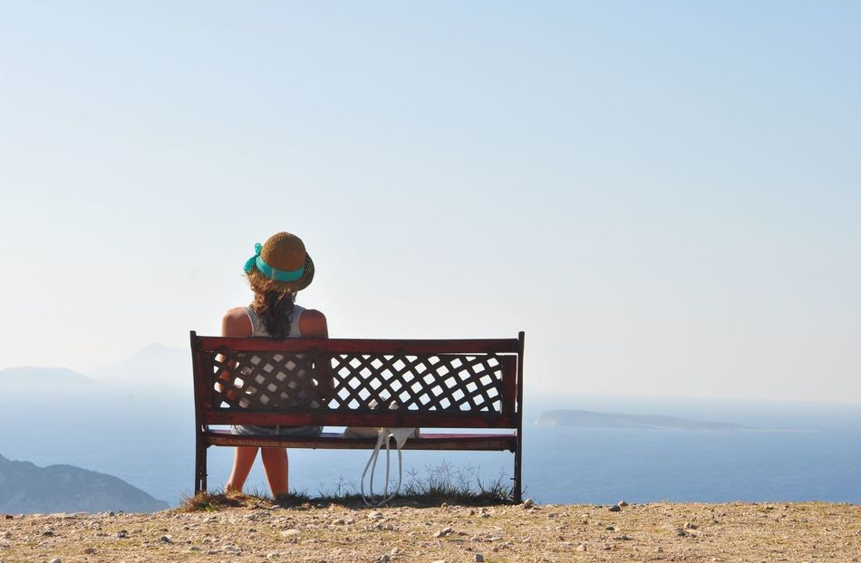 Beautiful stock photos of sonnenschein, Bench, Copy Space, Day, Getting Away From It All