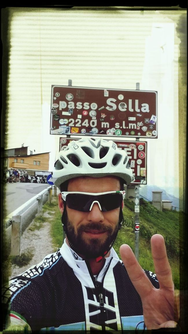 That's Me Cycling Mountains Taking Photos