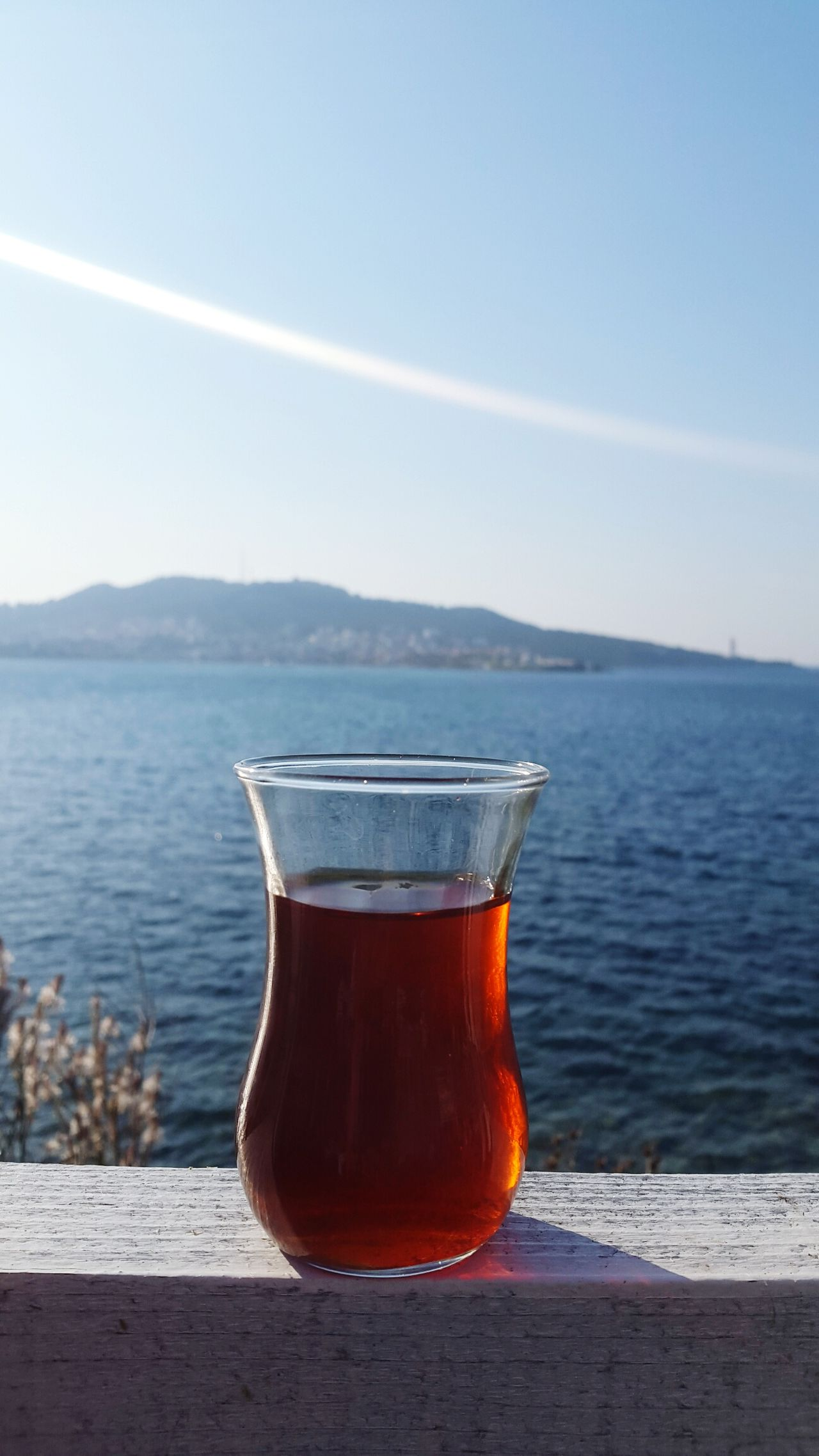 😍😍 Drink Refreshment Water Drinking Glass Food And Drink Healthy Eating Heat - Temperature No People Freshness Nature Sky Outdoors Day Tea Turkishcay çay Türkiye Turkey Nature EyeEm