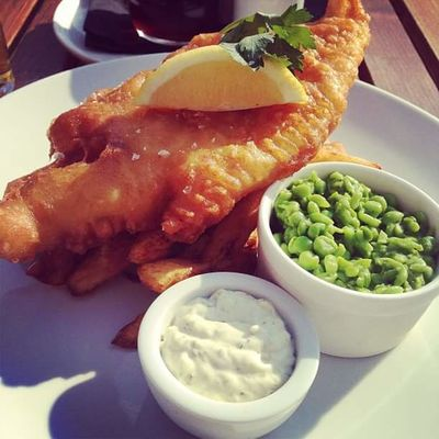 Fish And Chips Appetizer Bowl Close-up Day Food Food And Drink Freshness Indoors  No People Plate Ready-to-eat Serving Size Table Uk