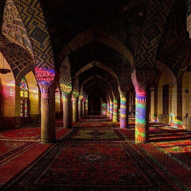 مسجد نصیرالملک- شیراز - ایران
