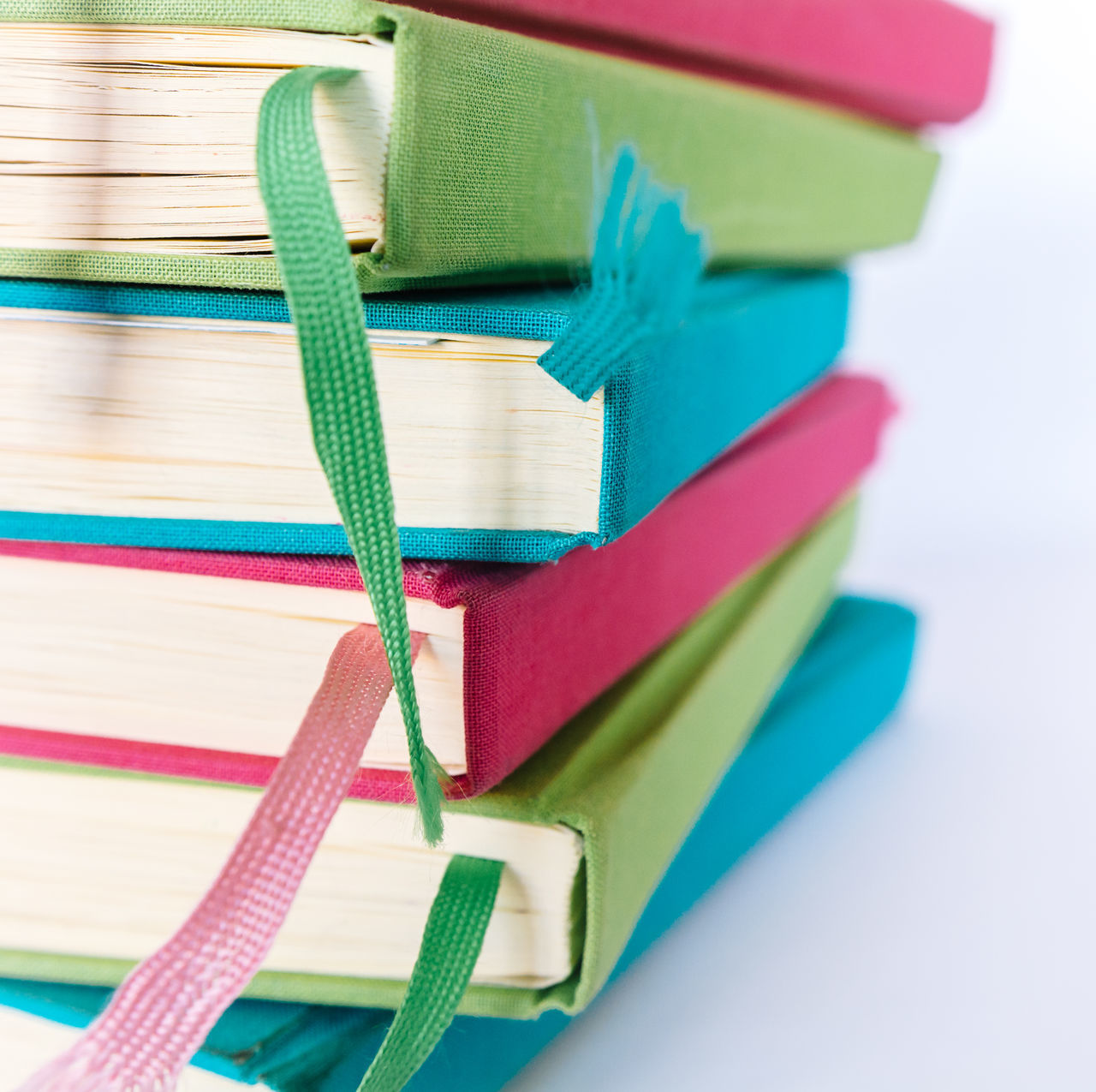 Colorful Books Blue Books Choice Close-up Colored Pencil Colorful Colors Cyan Day Education Educational Green Indoors  Learning LearningEveryday No People Pink Reading Reading Books Reading Time Studio Shot Study Hard Study Time Studying