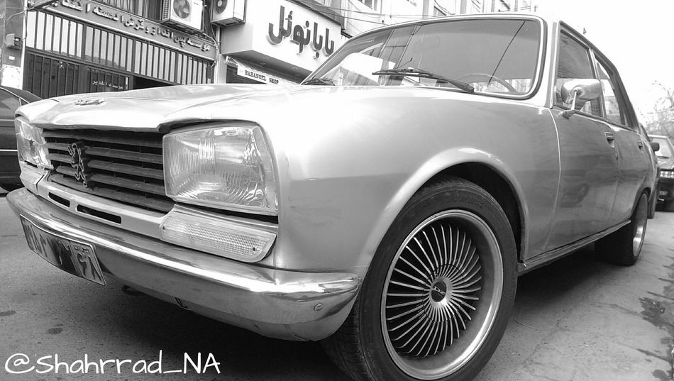 Car Oldcar Blakandwhite Photography هنر Art Photographer Streetphotography Shahrrad_NA