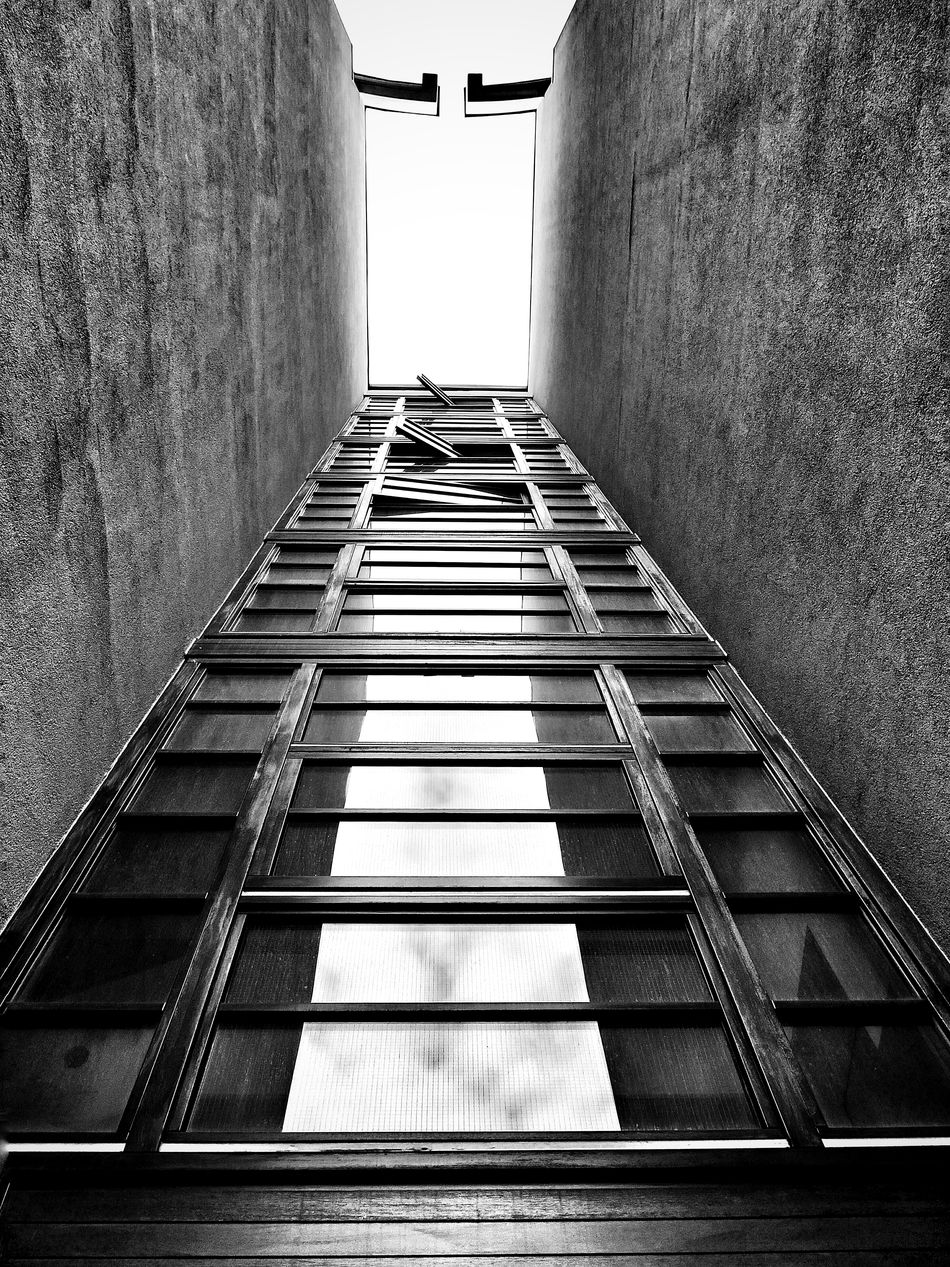 Blackandwhite Urban Architecture Facades Looking Up Concrete Texture Window Reflections