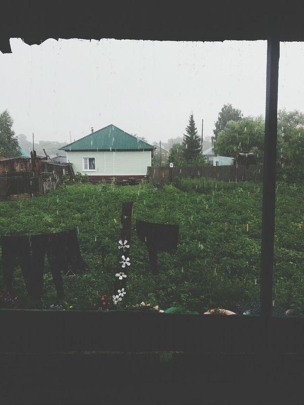 Haus Rain Relaxing Hello World