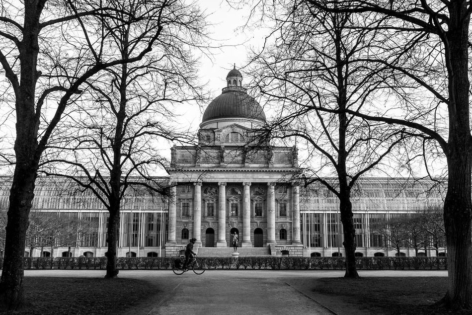 The Kriegerdenkmal in the Hofgarten Architecture Black And White Dome History Kriegerdenkmal Monument Streetphotography Travel Photography