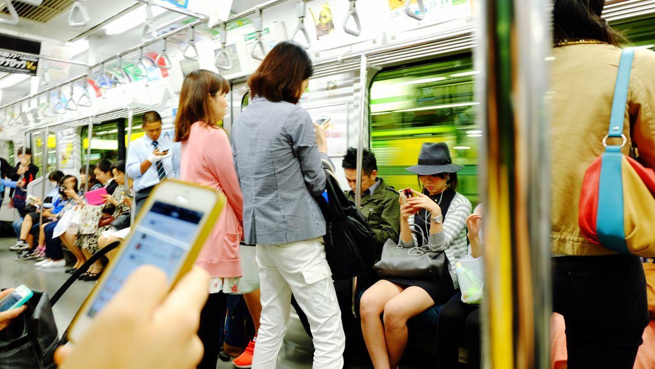 電車の時間 東京 Japan