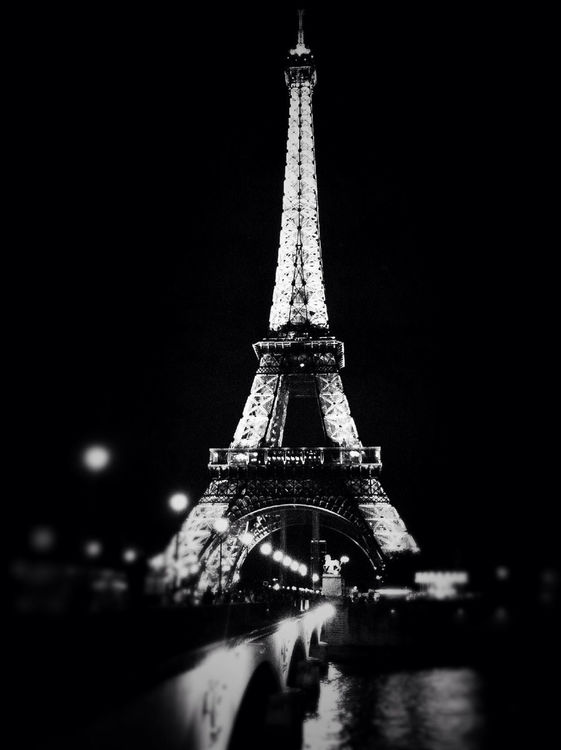 blackandwhite in Paris by Andy Chapman