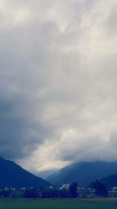 Showcase: February Valley Cloudy Horizon Different Blue FAR AWAY Break Through Darkness Before Dawn