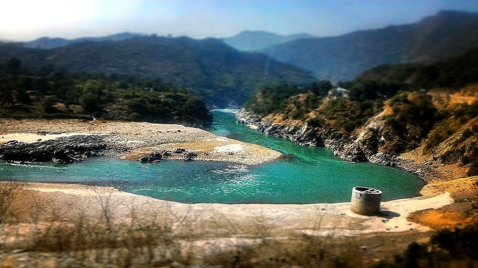 Ganges River Curves Curves Of Nature Beauty In Nature Landscape Outdoors Vacations Nature Water Scenics Mountain Day Tree Sky Amazing Highway