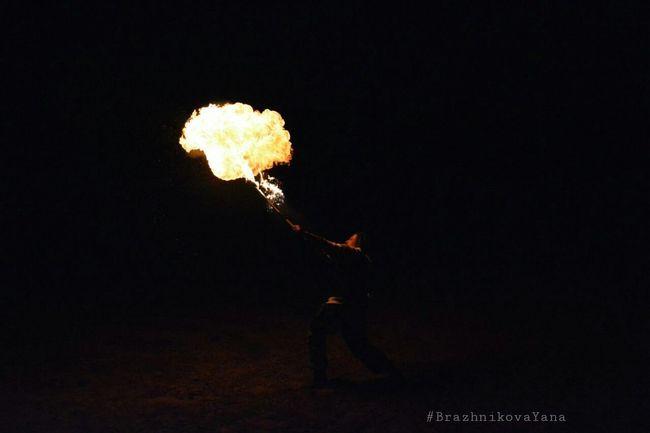 Adventure Club Fireshow Breeze Dangerous Fire Dark Light Club