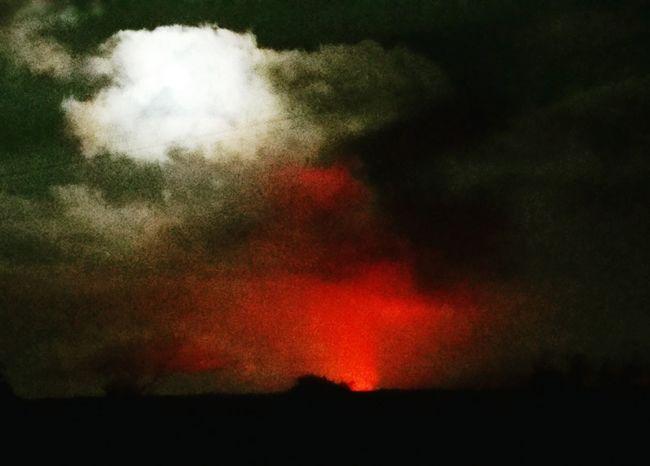 Volcano Bigislandhawaii Full Moon