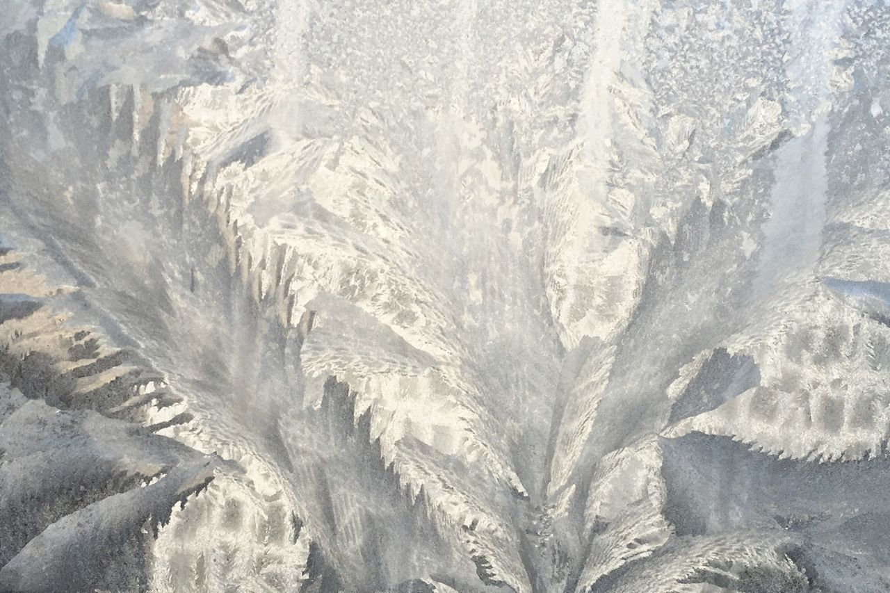 Abstract Window Ice Patterns In Nature Cold Imaginary Landscapes Nature's Diversities