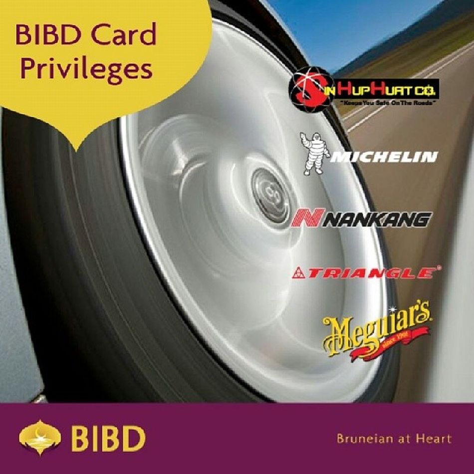 Enjoy 15% discount at Sin Hup Huat when you pay with your BIBD Cards or eTunai from 1st Jan to 31st Dec 2014 Bibd Bruneianatheart ETunai Brunei Tyres Deals InstaBruDroid Andrography